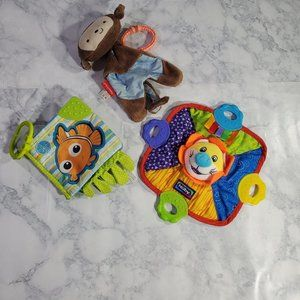 Nuby Fisher Prices Infant Toy Lot Kids Gift Toys